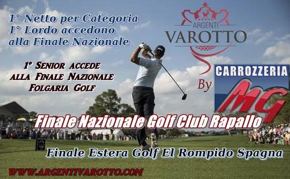 Finale Nazionale Golf Club Rapallo Domenica 3 Luglio