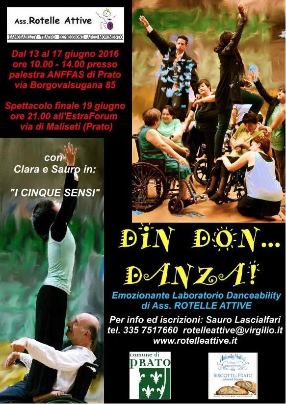 14° Seminario di Danceability a Prato 2016
