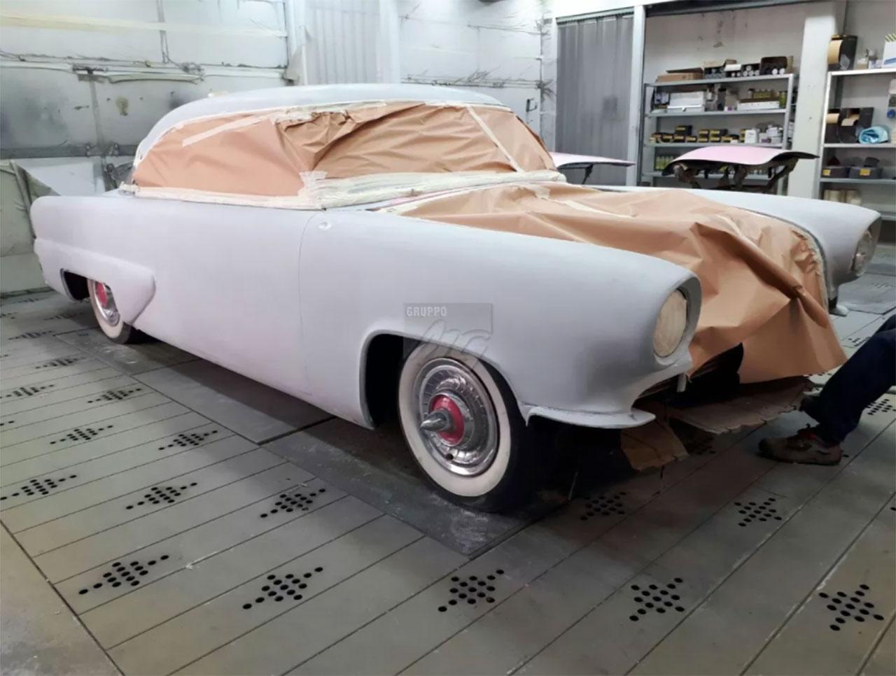 Work in progress- Restauro di una Buick per l'American Diner
