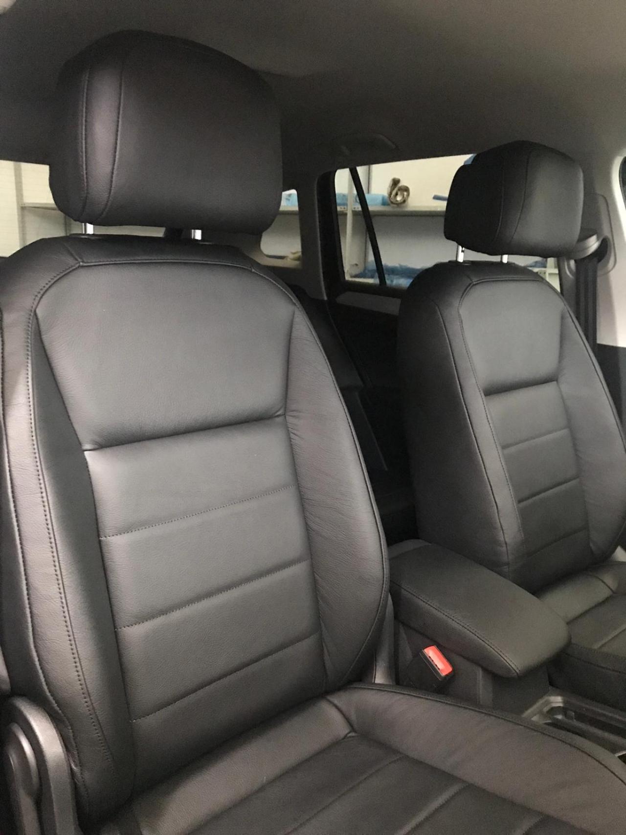 Nuovi interni in pelle Volkswagen Tiguan R Line 2018