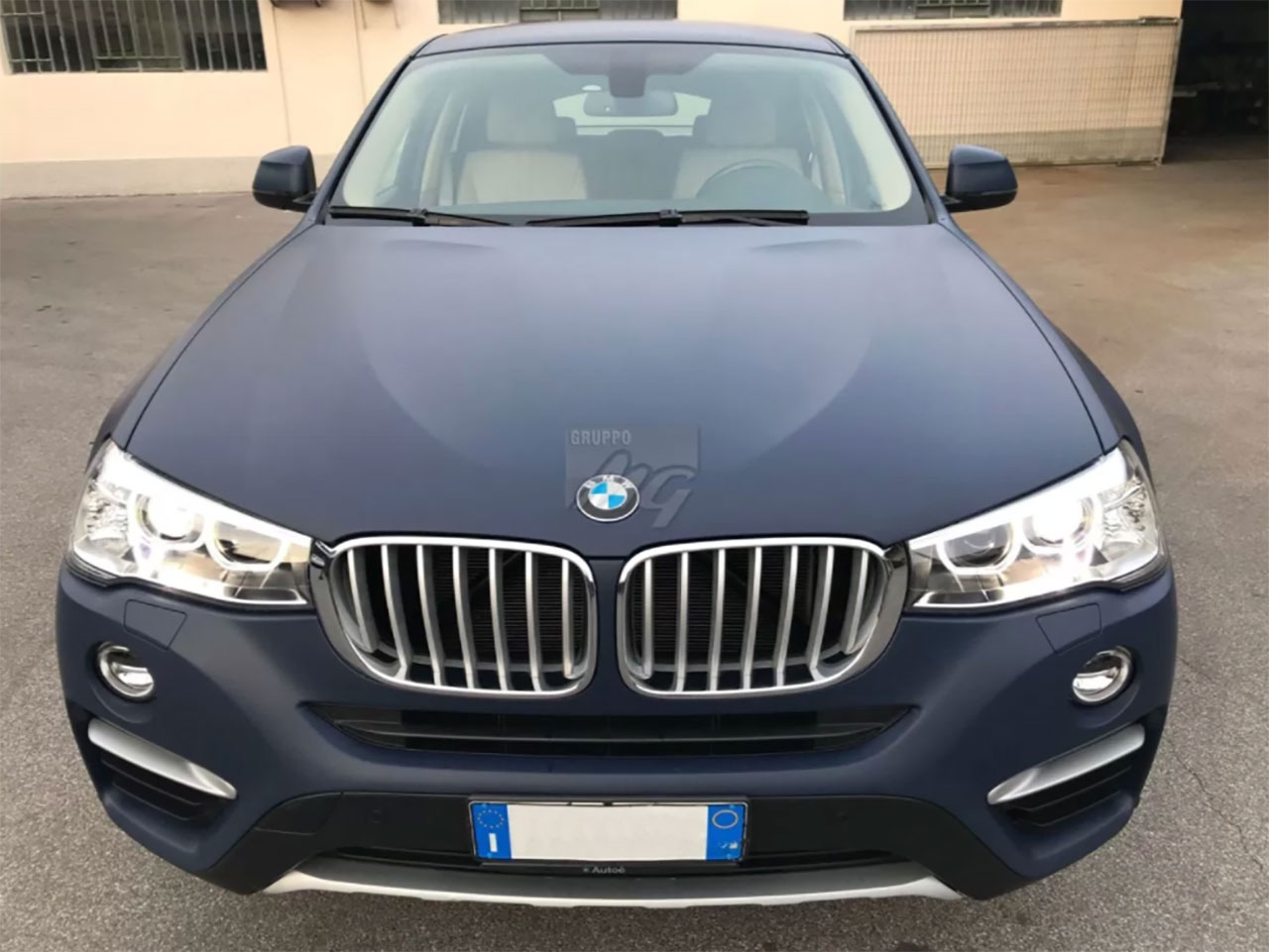 X4 WRAPPING BLU SCURO OPACO