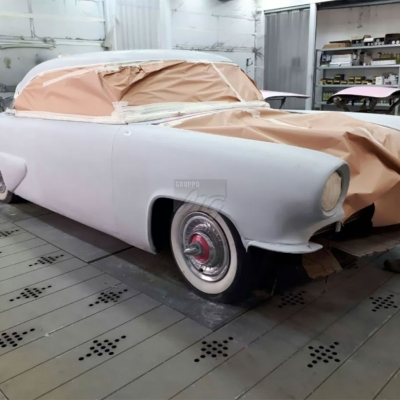 Work in progress- Restauro di una Buick per l'American Diner
