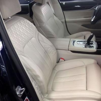 Nuovi interni in pelle con lavorazione di trapuntatura nuovo BMW serie 7