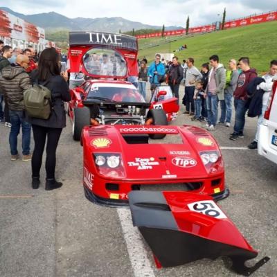 Mg al Ferrari Challenge Mugello 2017