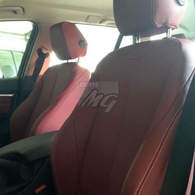 Interni in pelle BMW serie 3 : colore rosso