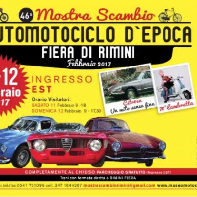 MOSTRA SCAMBIO AUTOMOTOCICLO D'EPOCA 2017